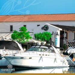 Cafe Calma At Limassol Marina