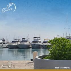 Cafe Calma By The Sea Limassol Marina