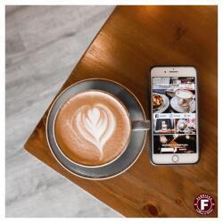 Order Online Through Fabricca Coffee N Bites Application
