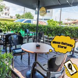 Clock Cafe Mesa Geitonia